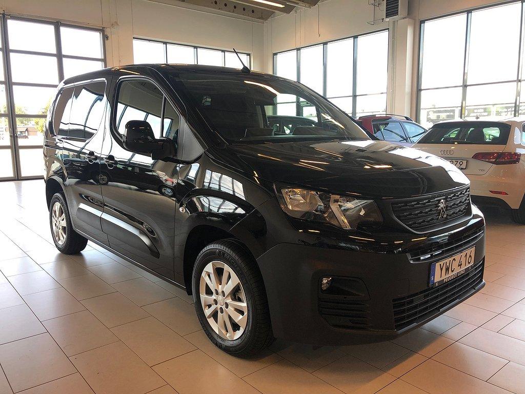 Peugeot Partner NYA PRO+ L1 BlueHDi 100 hk -Navi+Webasto