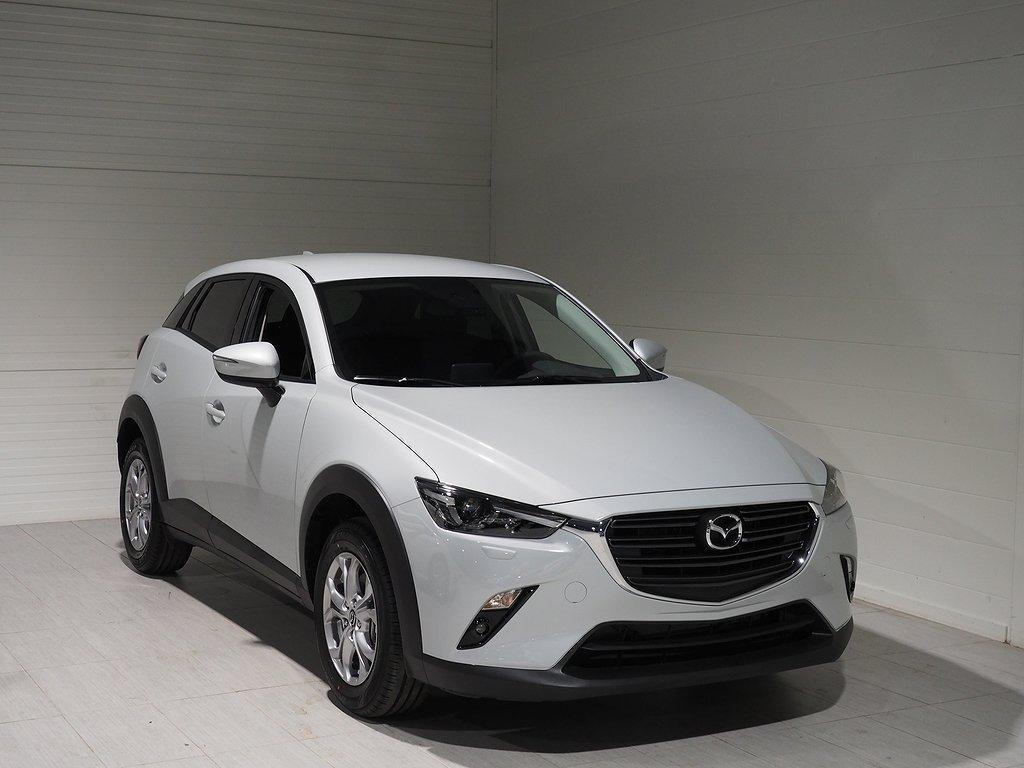Mazda CX-3 Vision 2,0 121hk LÅG SKATT 2019