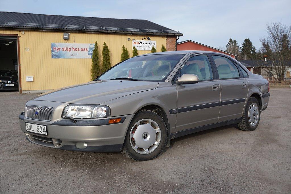 Volvo S80 2.4 140hk Nybes