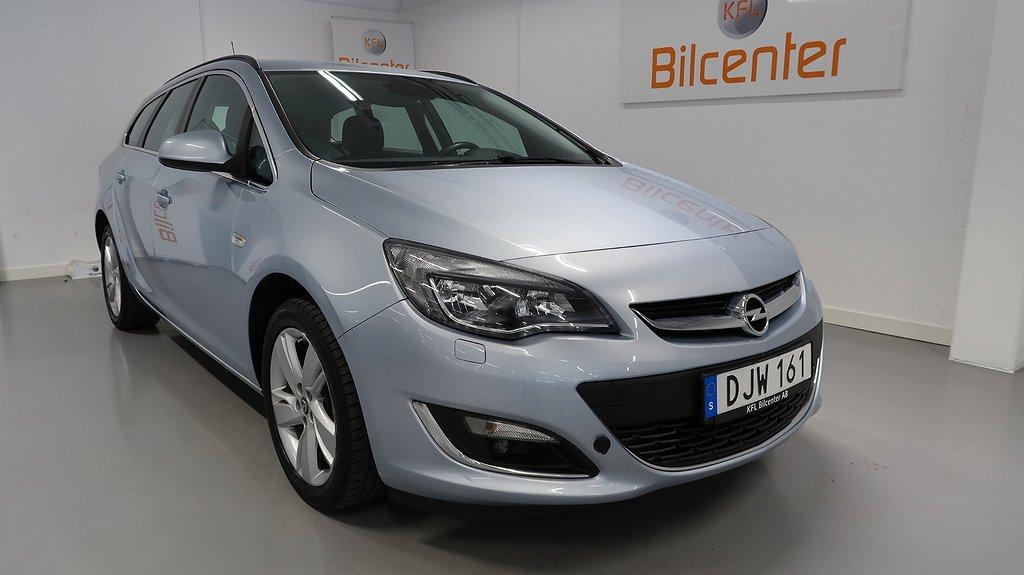 Opel Astra Sports Tourer 1.4 Turbo SoV-Motorvärmare-Farhållare 140hk
