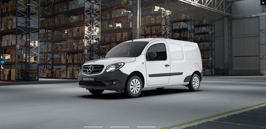 Mercedes-Benz Citan 109 CDI Fighter Extra Lång