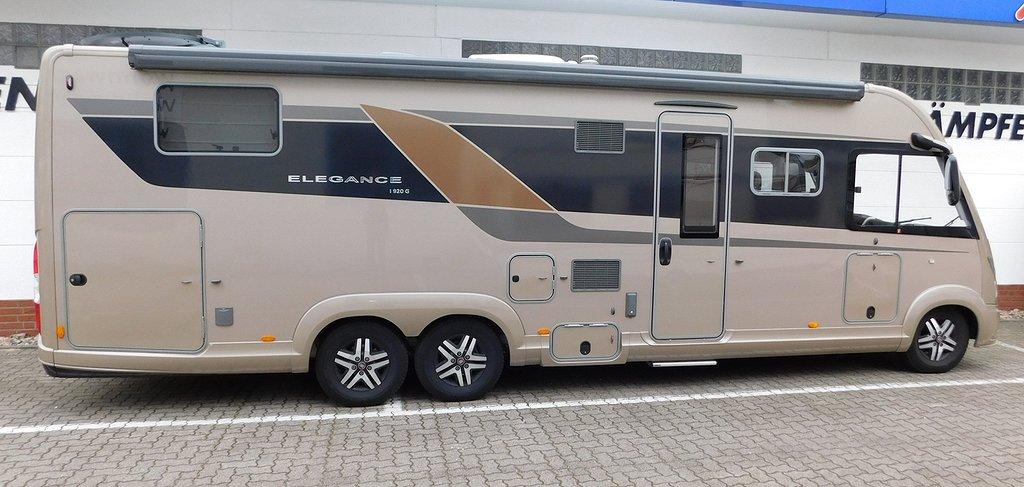 Bürstner Elegance I 920 G 180hk Automat 9-stegs ALDE Euro6 D