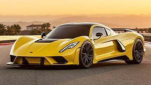 Hennessey Venom F5 toppar 484 km/h