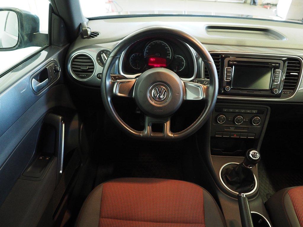 Volkswagen The Beetle 1.2 TSI Komfortpaket 105hk 2015