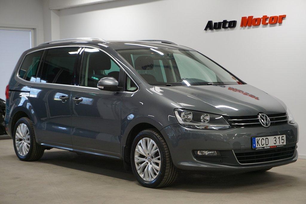 Volkswagen Sharan 2.95% ränta 2.0 TDI 4Motion 7-sits Panorama