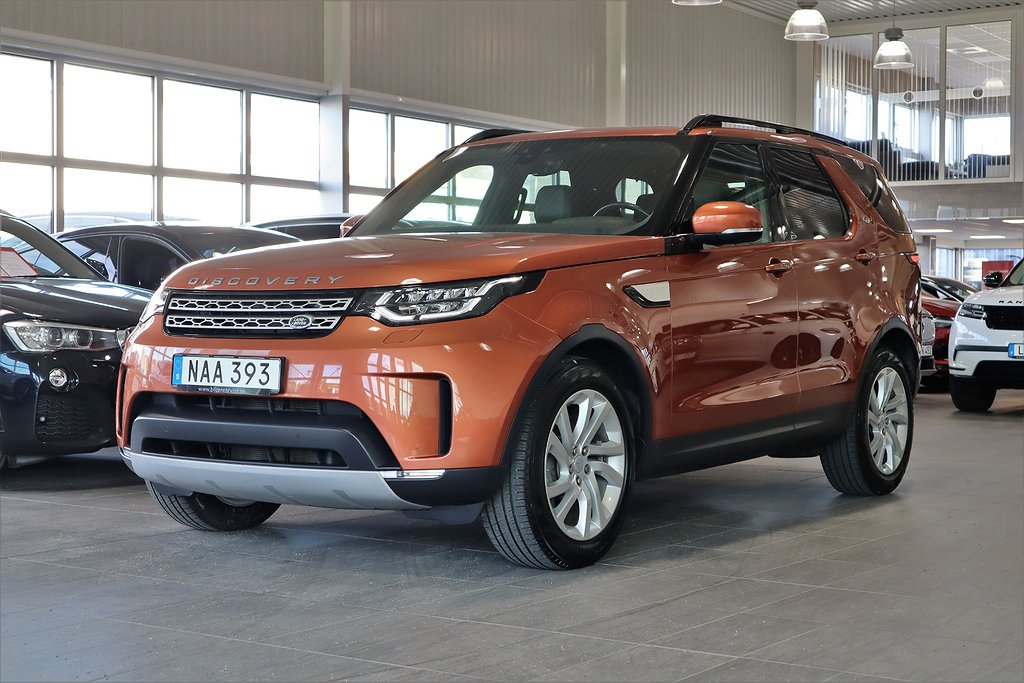 Land Rover Discovery TD4 4WD HSE 7-sits Pano Värmare 20""