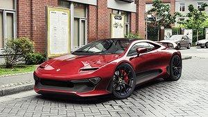Nya Lotus Esprit - med Volvo-motor från Skövde