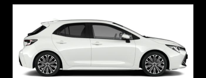 Modellbild av en Toyota Corolla