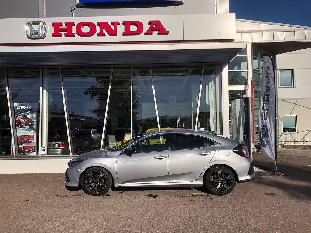 Honda Civic 1.0 CVT Elegance Euro 6 129hk 5-d