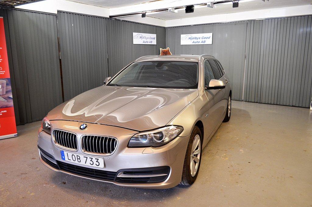 BMW 520 d Touring Steptronic Euro 6 190hk