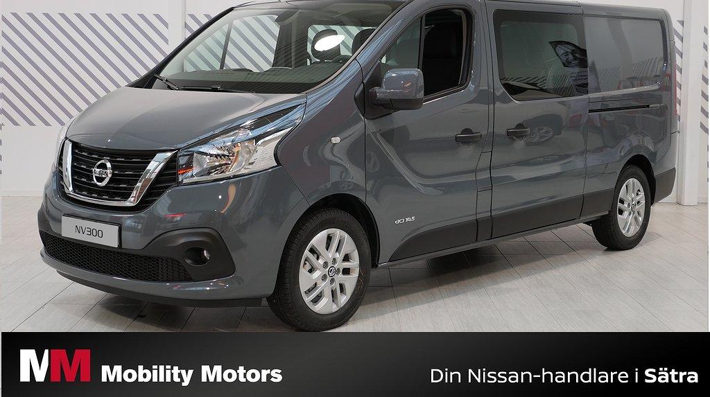 """Nissan NV300 Crew Van 6-sits """"Flexibel transportbil"""" L2H1"""