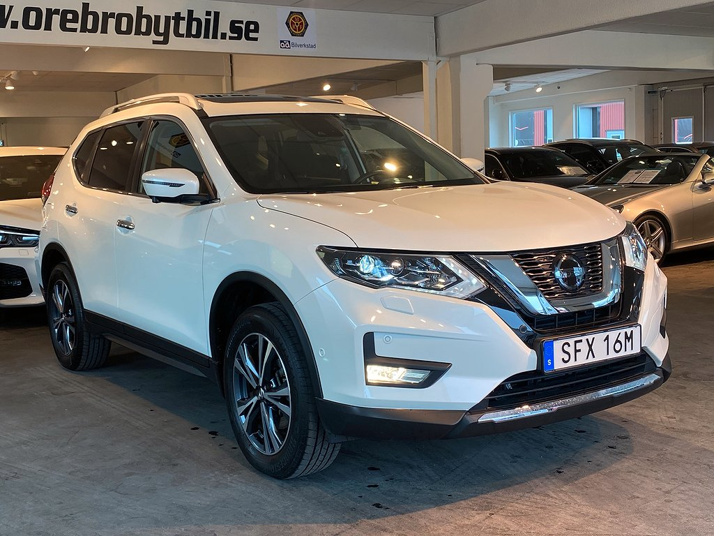 Nissan X-Trail 1.3 DIG-T Aut Gps Drag Panorama 7-sits 160hk
