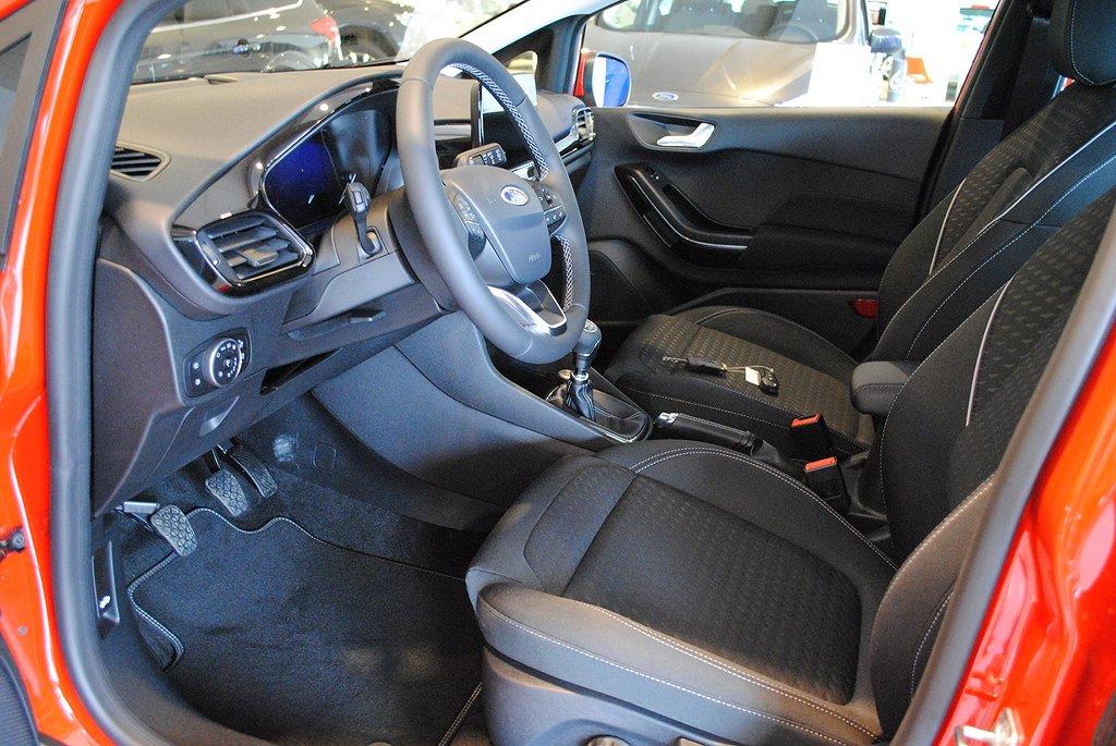 Ford Fiesta 1.0T 100hk EcoBoost Titanium*Demobil*