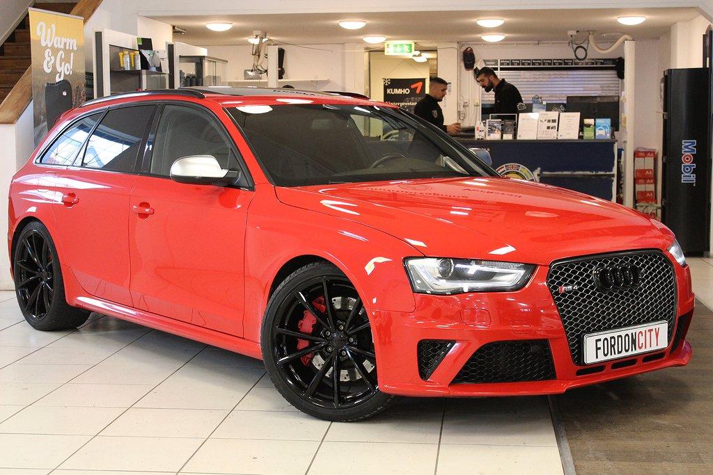Audi RS4 Avant SV-Såld, B&O, Panorama, Skalstolar, Exclusive