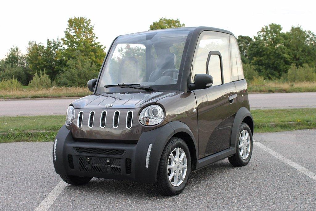 Jia Mopedbil EV-1 Smoked Quartz med AC