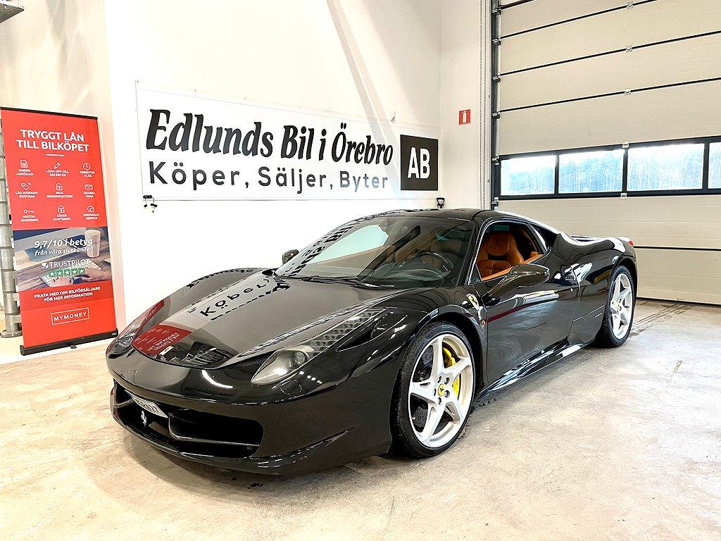 Ferrari 458 Italia 4.5 V8  DCT 570hk (2500mil)