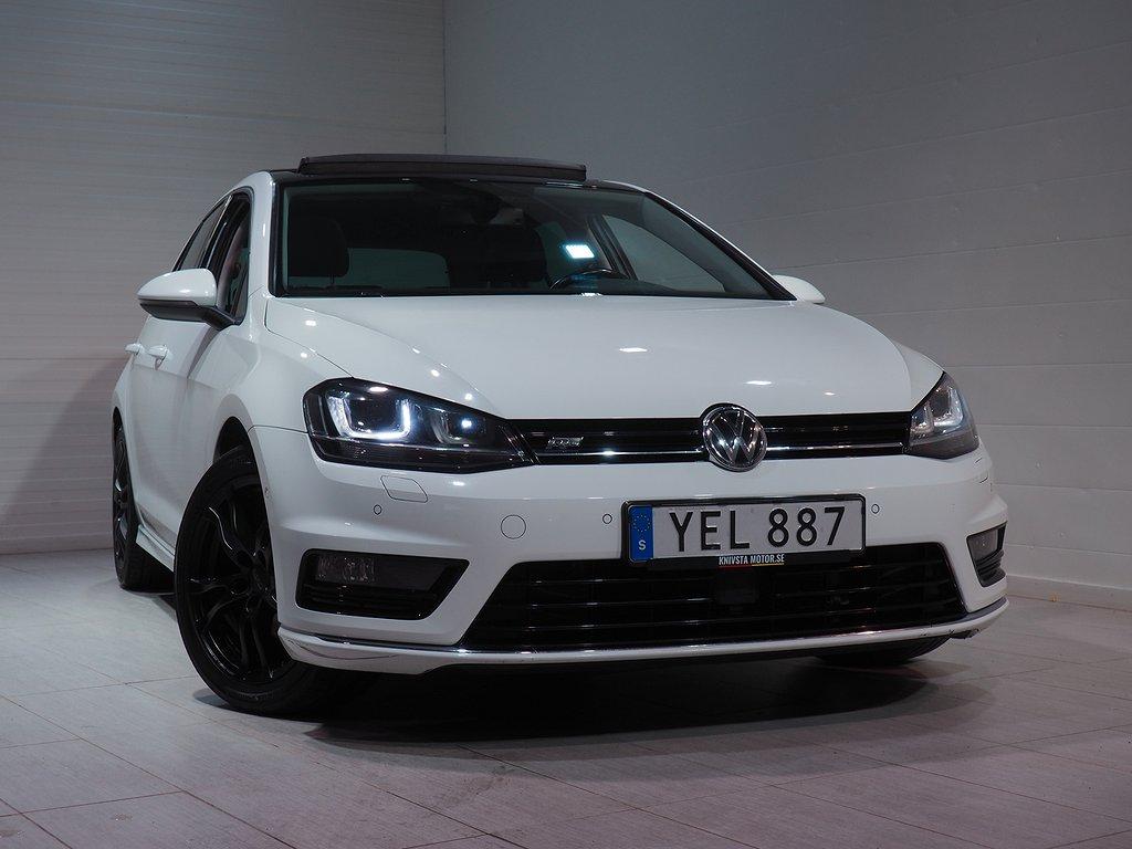 Volkswagen Golf 1.6 TDI 110hk 4M R-line Pano Drag D-värm 2016