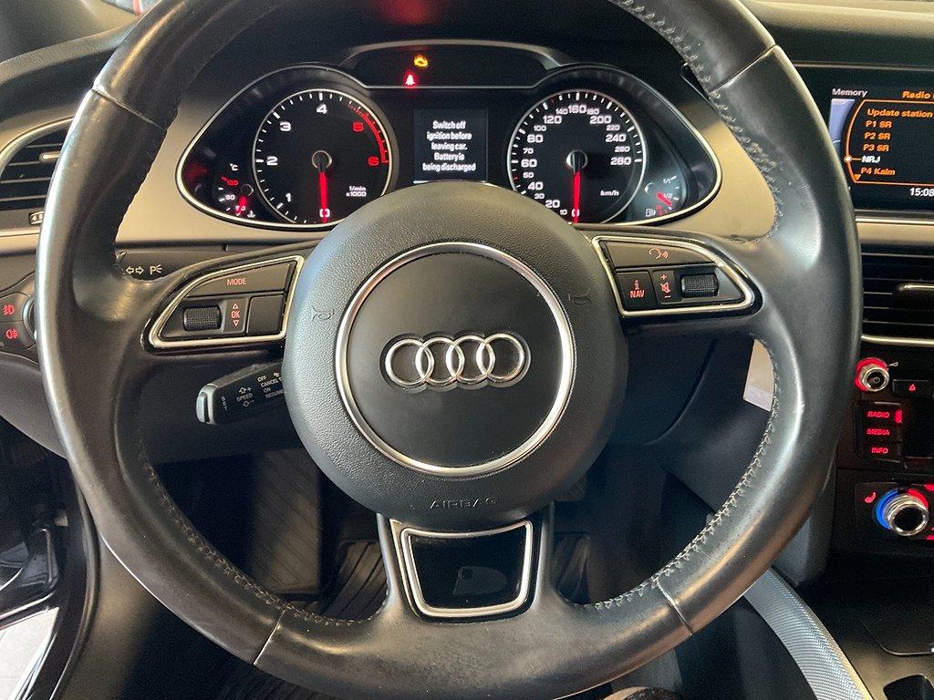 Audi A4, allroad 2.0 TDI quattro S Tronic  177hk Dragkrok