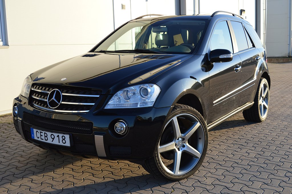 Mercedes-Benz ML 420 CDI 4MATIC 7G AMG styling 306hk