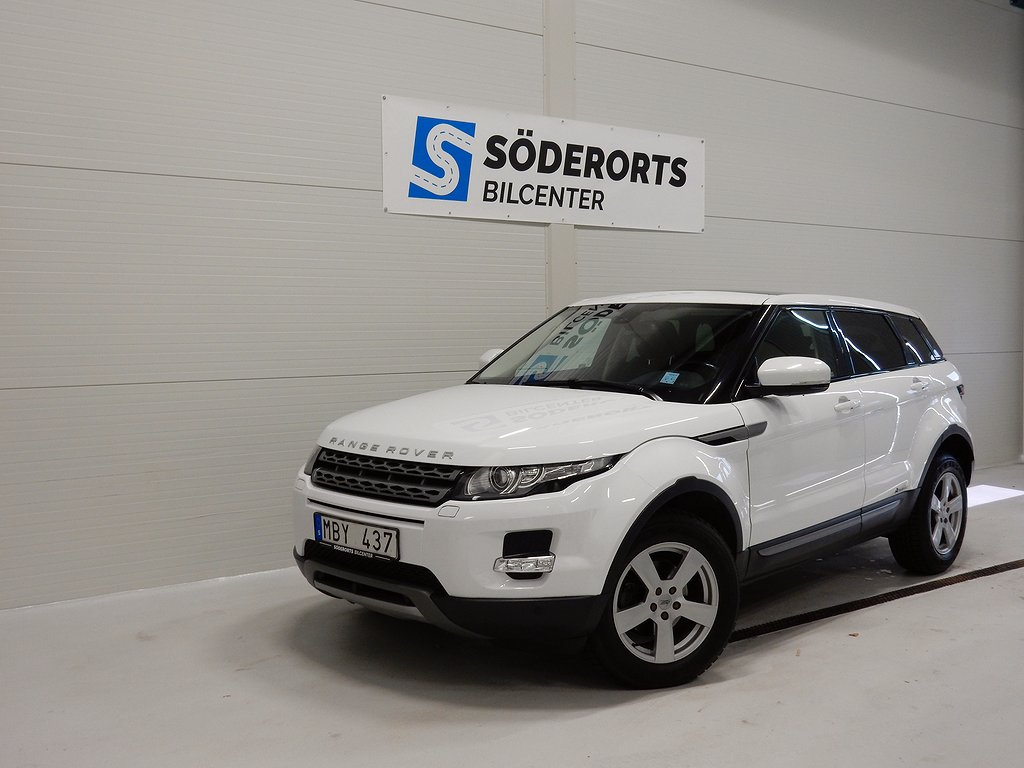 Land Rover Range Rover Evoque 5-dörrar 2.2 SD4 4WD Automat Pure 190hk