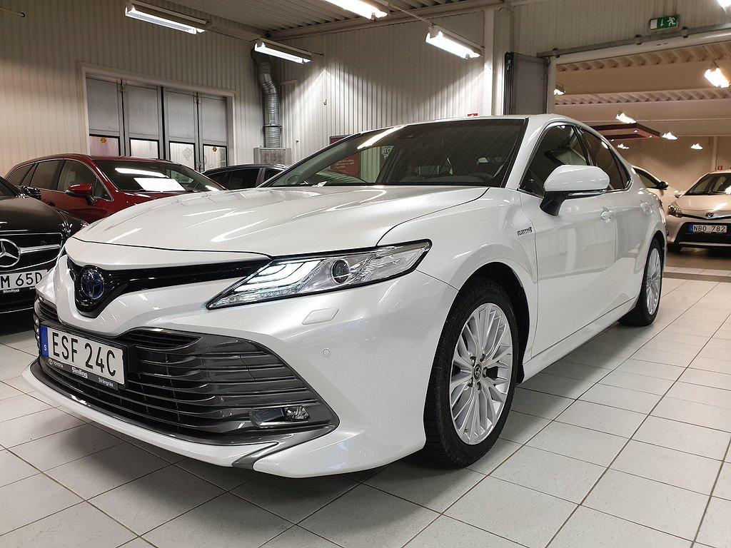 Toyota Camry 2,5 Elhybrid Executive Premium Paket / Vinterhjul