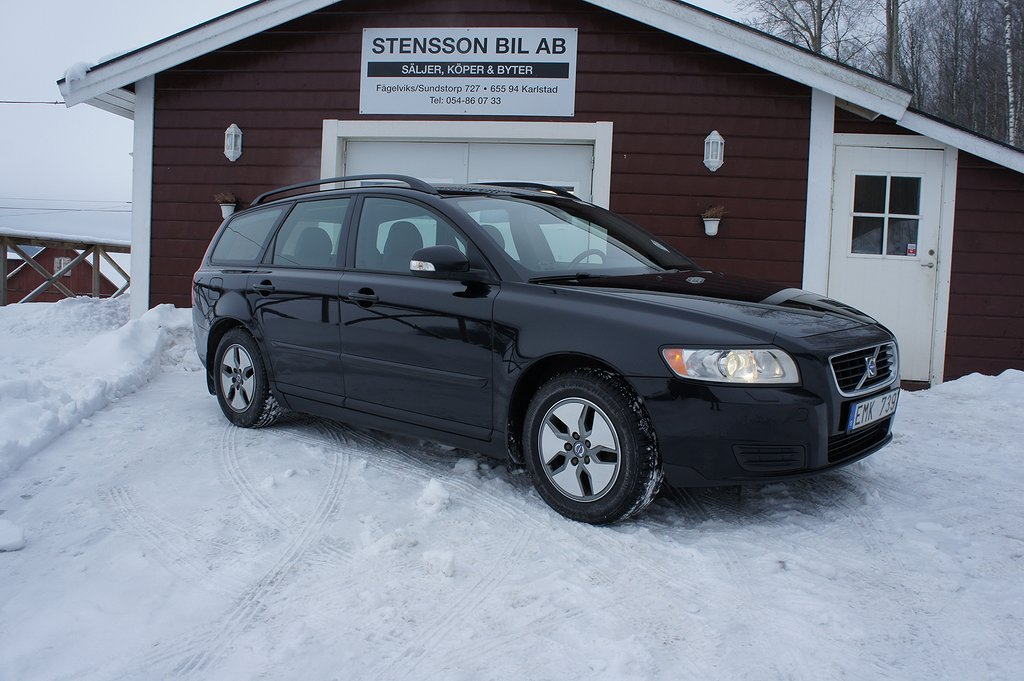 Volvo V50 1.6 D 109Hk Värmare, 1 Brukare.