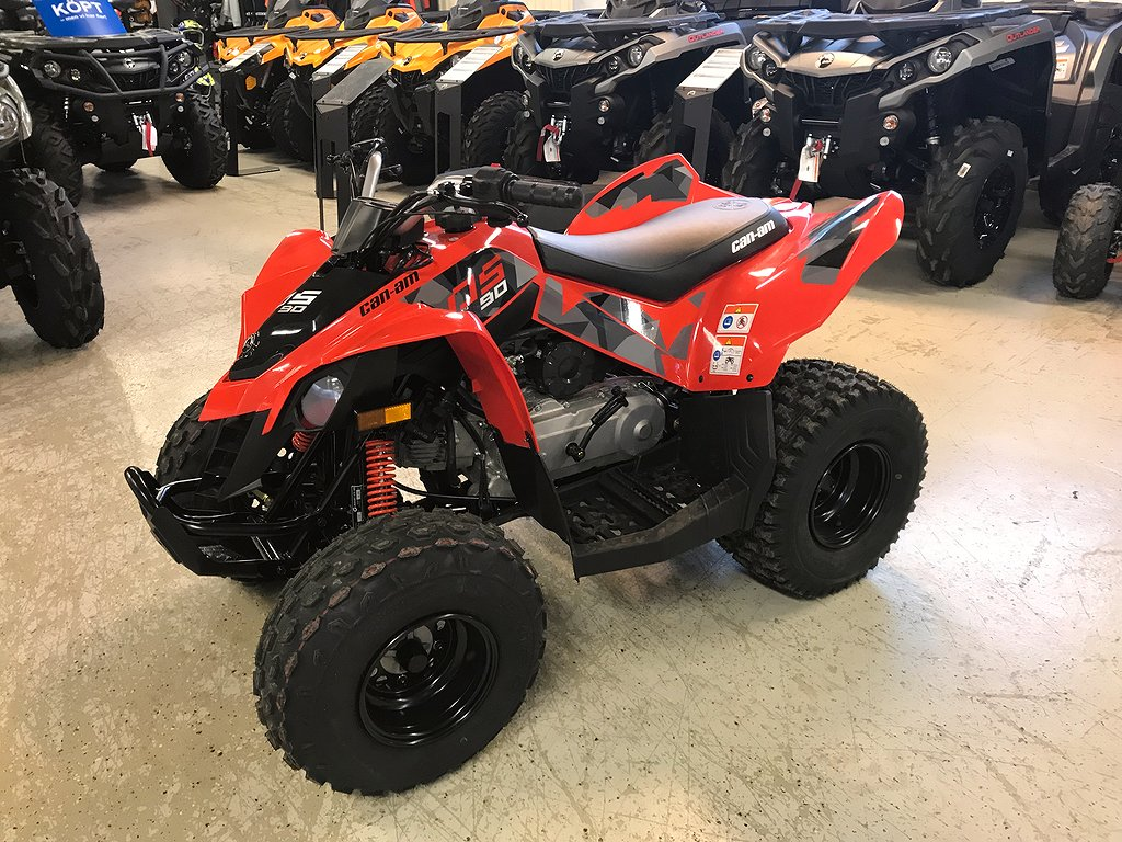 """Can-Am DS 90 STD """"Visnings ex"""""""