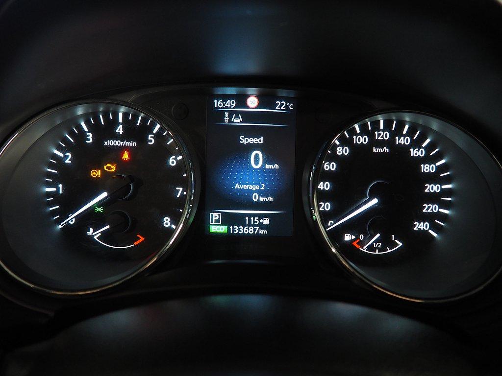 Nissan Qashqai 1.2 Aut N-CONNECTA Navi, Backkamera 2016