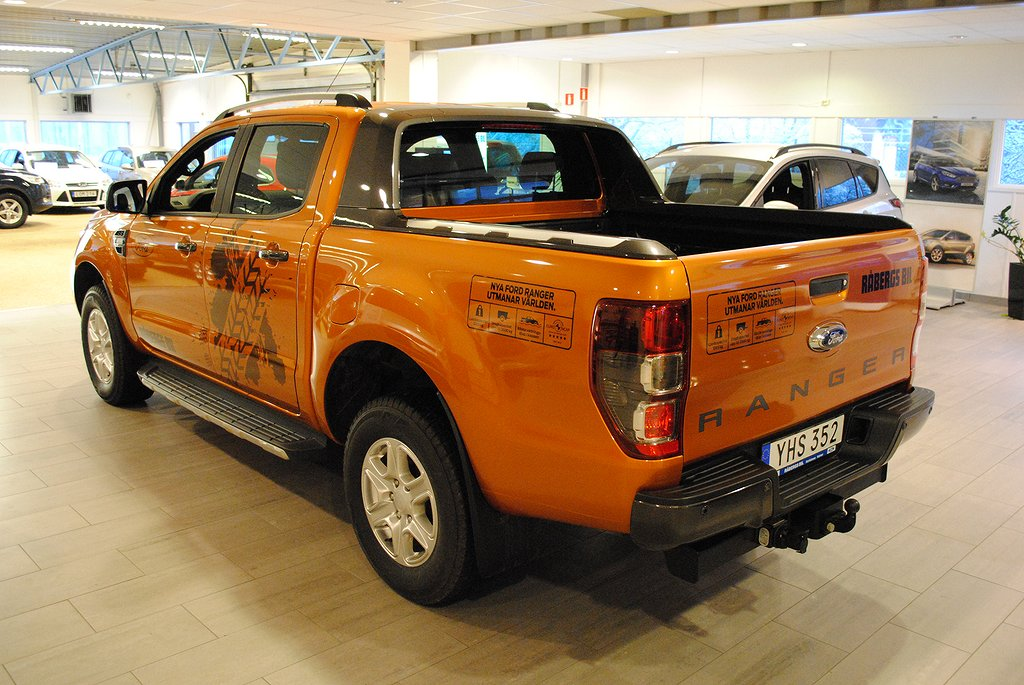 Ford Ranger Wildtrak 3.2 TDCi 200hk Aut*DEMO**1.95%ränta*