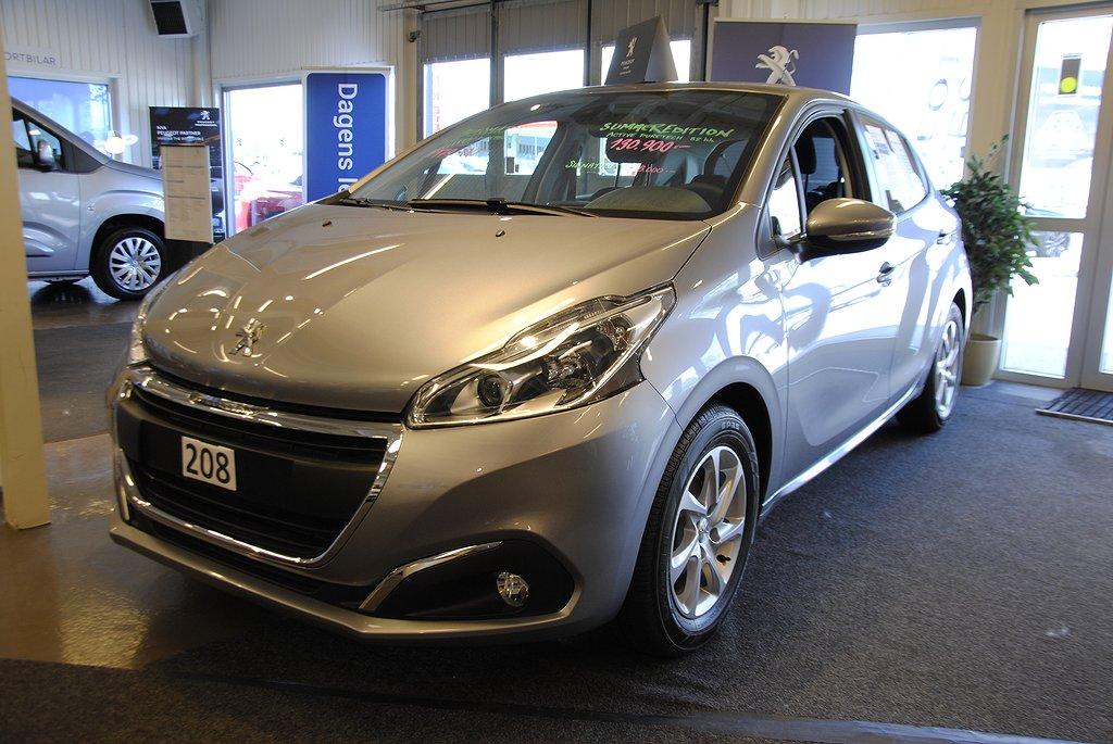 Peugeot 208 Active PureTech 82hk, Pack Urban (4500 mil i 36 mån
