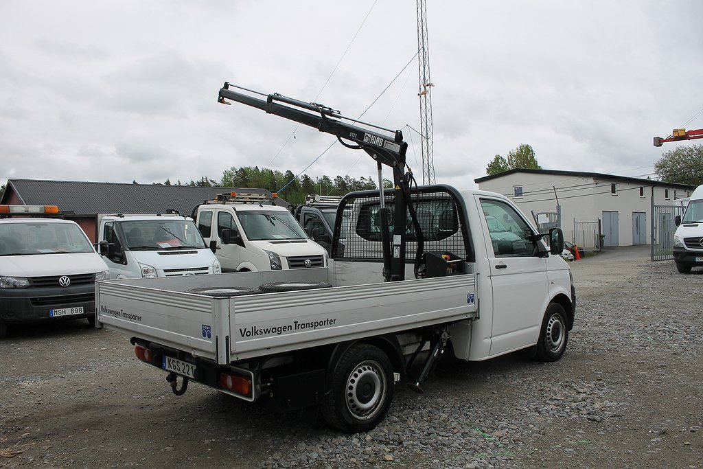 Volkswagen Transporter 2.0TDI 4X4 Kran+Flak