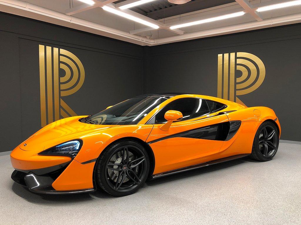 McLaren 570GT (570hk) Panorama / Sv-såld / 1-ägare