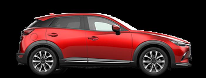 Modellbild av en Mazda CX-3