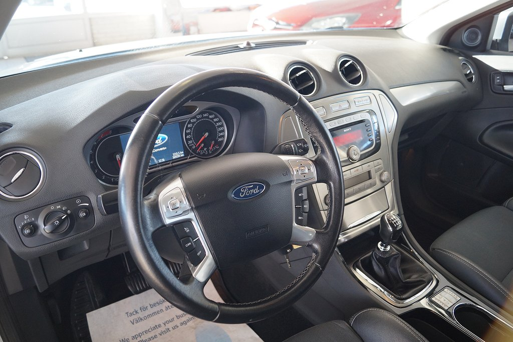 Ford Mondeo 2.5T 220hk Titanium 5dr, Dragkrok, 1800kg drag