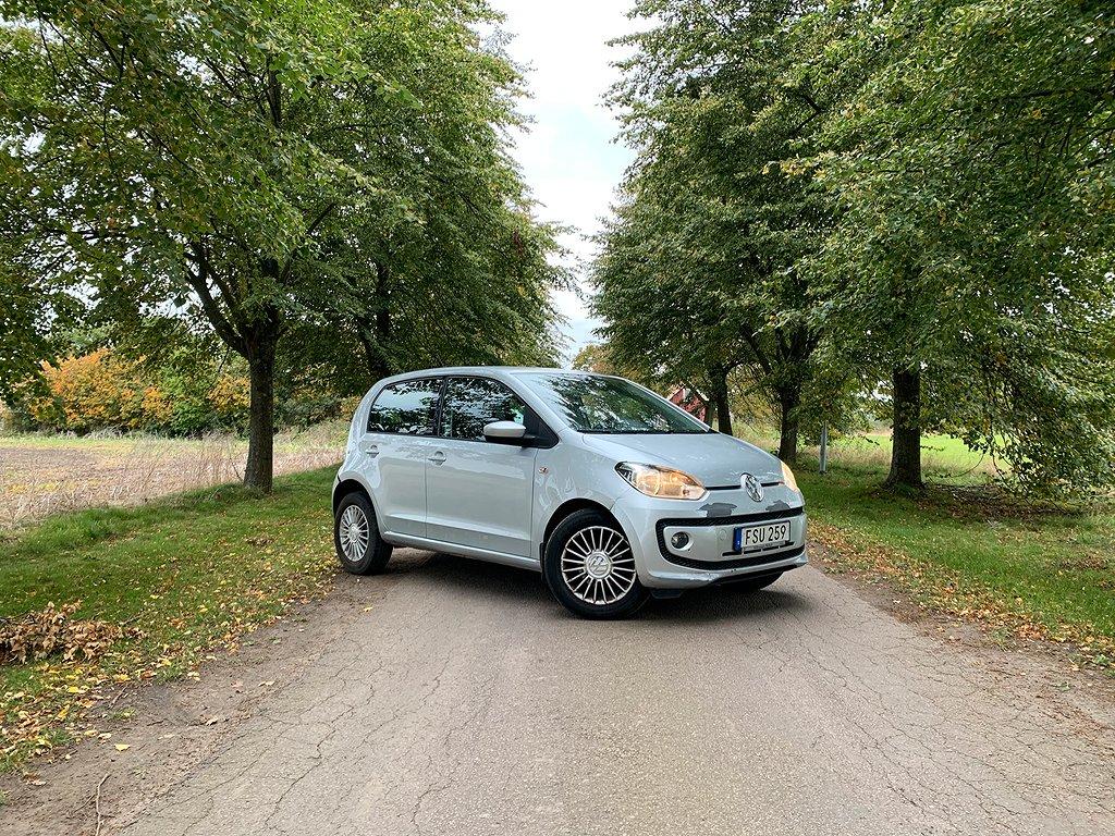 Volkswagen Up 1.0 Sv-såld, Besikt 2021-10. Euro 6 75hk