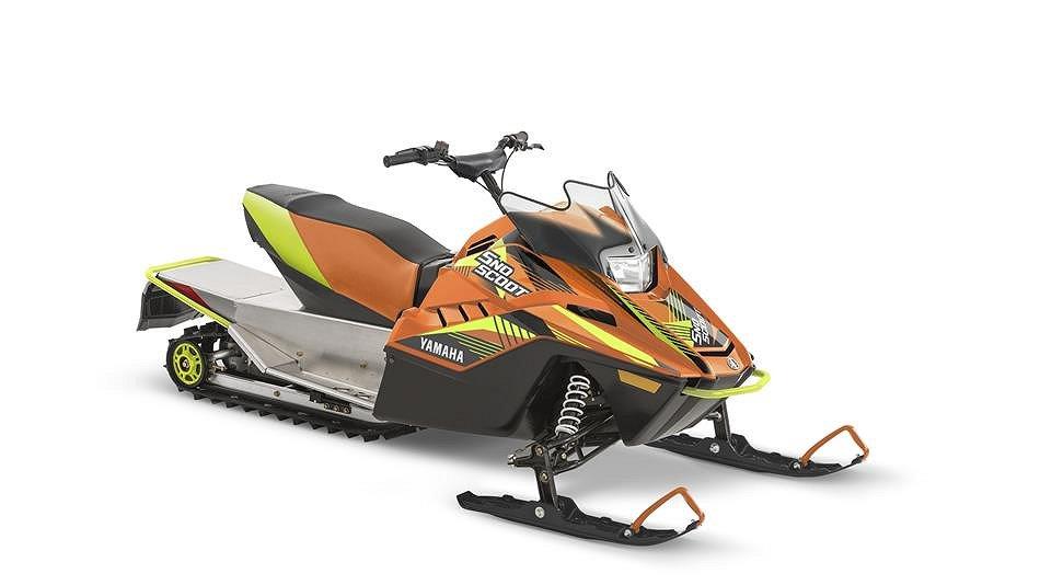 Yamaha SnoScoot ES 200  Blå/Orange