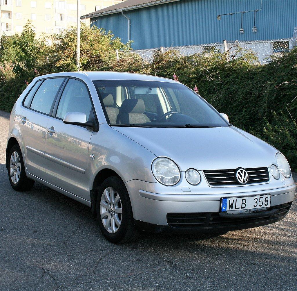 Volkswagen Polo 5-dörrar 1.4 75hk