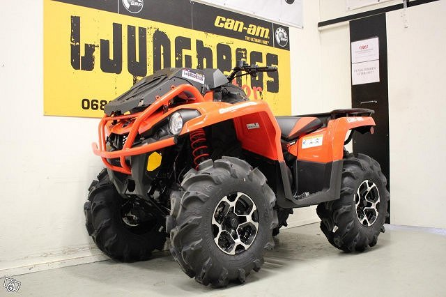 Can-Am OUTLANDER XMR 570 KAMPANJ -10 000KR