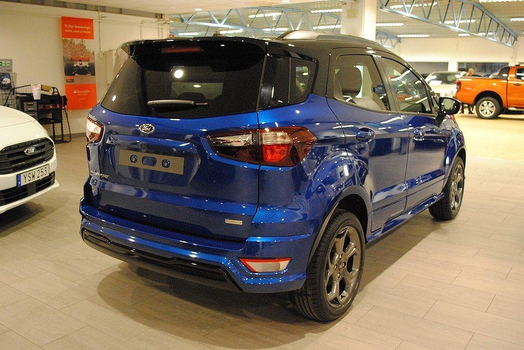 Ford Ecosport 1.0T 125hk EcoBoost Aut Euro 6 ST-Line