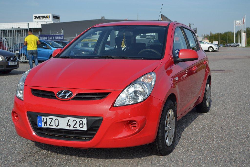Hyundai i20 5-dörrar 1.2 77hk