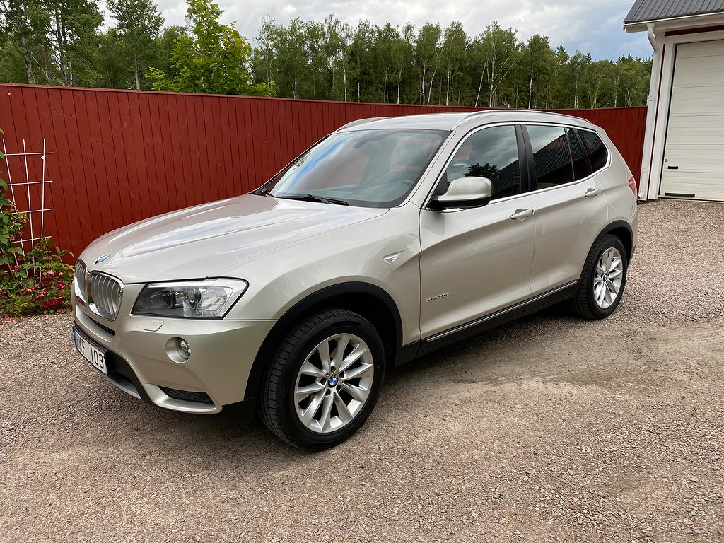 BMW X3 xDrive30d Steptronic 258hk
