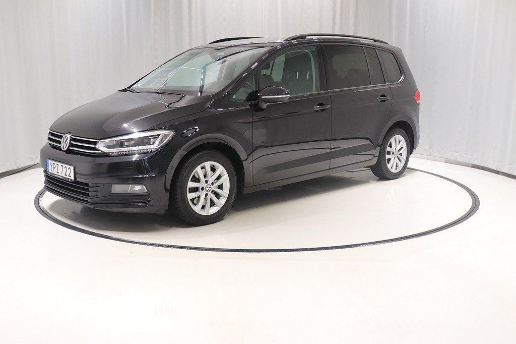 Volkswagen Touran 1.4 150hk 7-sits Automat *Drag*Värmare*