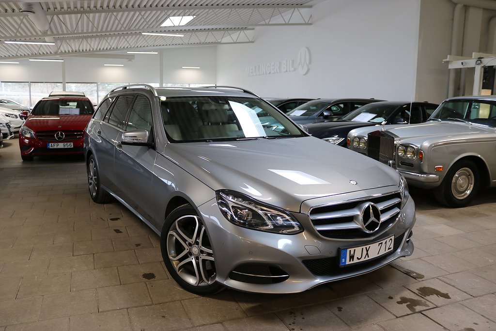 Mercedes-Benz E 220 T 7G-Tronic 170hk Sportpkt, Drag Bränslv.+Fjärr