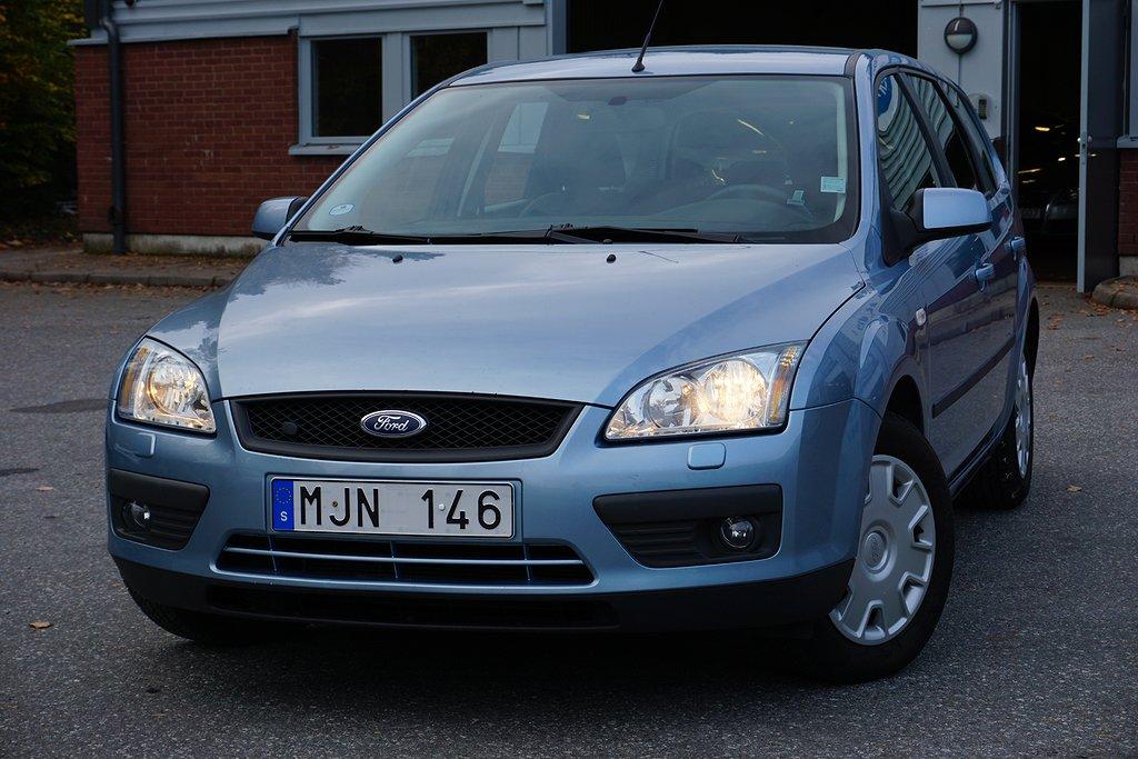 Ford Focus Kombi 1.8 Flexifuel 125hk, DRAG, M-VÄRMARE, NYBES