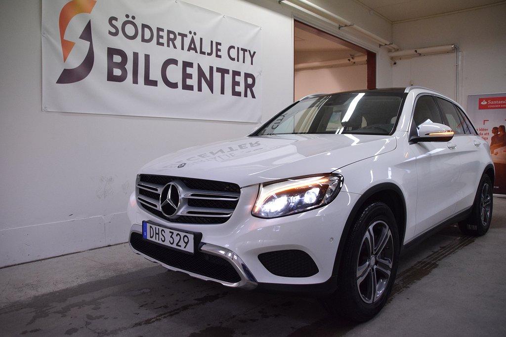 Mercedes-Benz GLC 220 d 4MATIC SKINN PANORAMA 9G-Tronic Euro 6 170HK SVENSKSÅLD