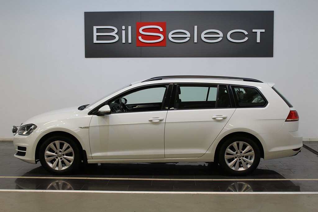 Volkswagen Golf SportsCombi 1.4 TGI CNG DSG Euro 6 110hk