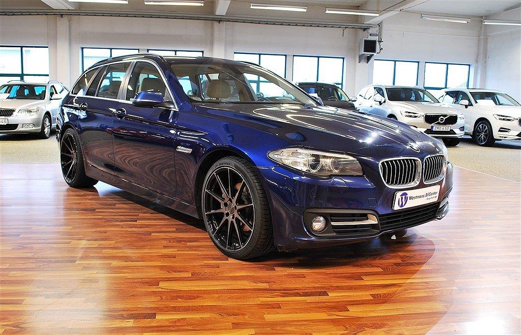 BMW 520 d 190hk xDrive Touring *Skinn*
