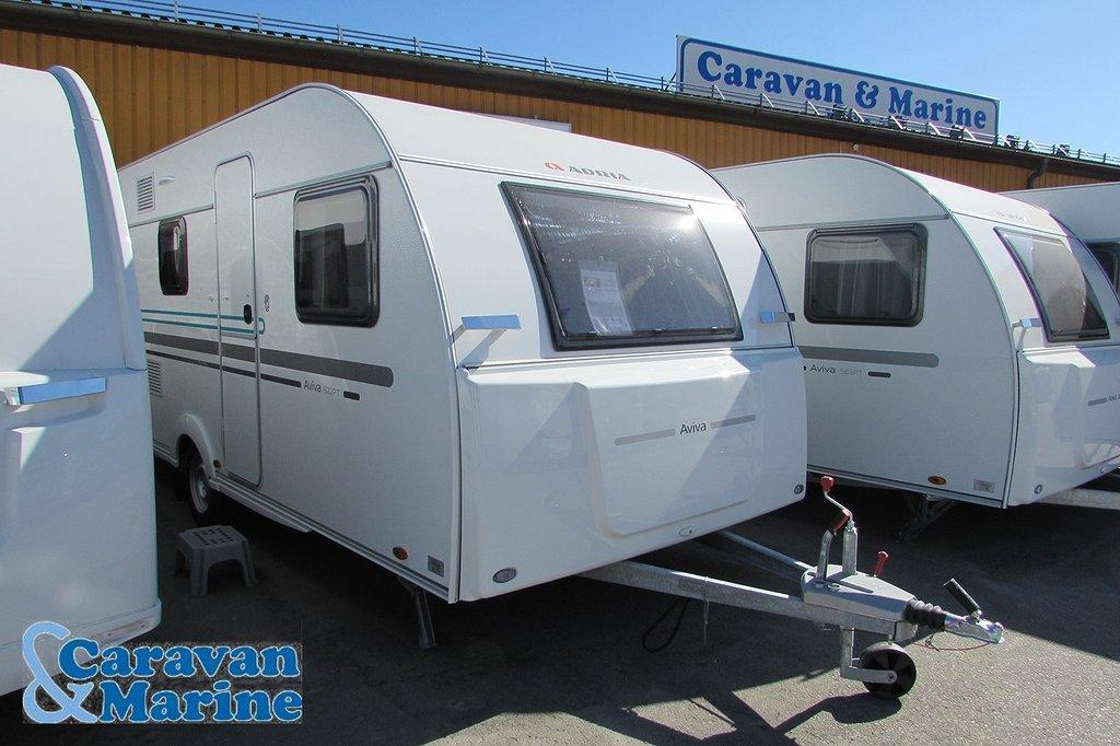 Adria Aviva 522 PT Barnkammarvagn