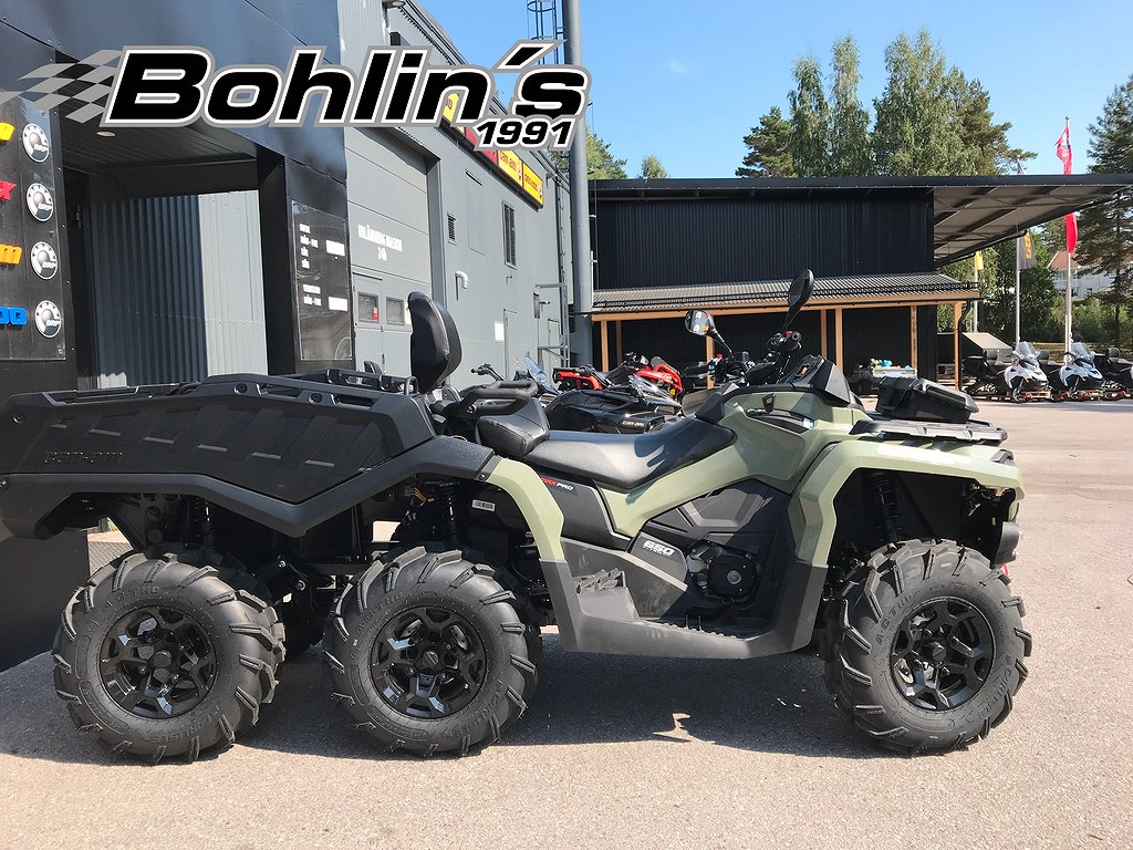 Can-Am Outlander MAX 6x6 Pro T3B -18
