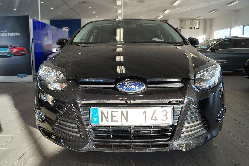 Ford Focus *2.95%ränta*1.0 EcoBoost 100hk Titanium Kombi, Drag